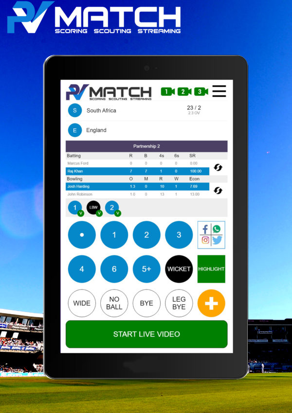 live cricket match scoring