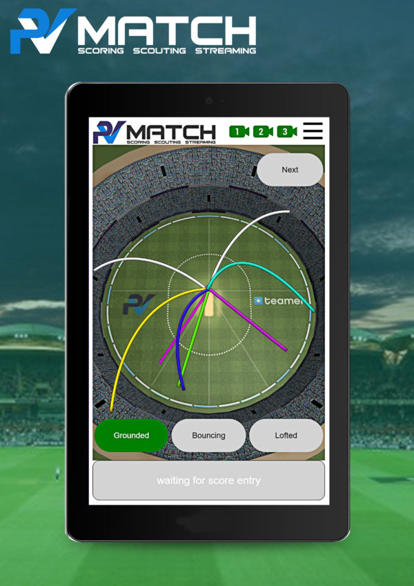 cricket score management system